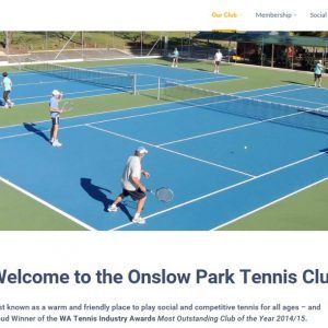 Onslow Park Tennis Club