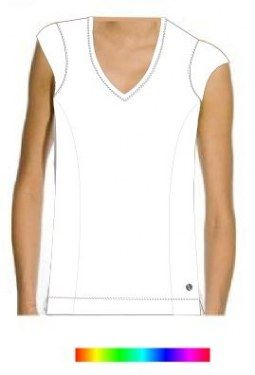 capped-sleeves-top-plain