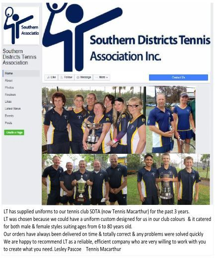 Sothern District Tennis Association